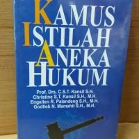 KAMUS ISTILAH ANEKA HUKUM