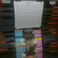 Poster Imam Mahdi VS Dajjal dan Dekatnya Kehancuran Alam Semesta
