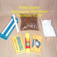 Jual Tembakau rasa sampoerna mild merah paket starter Murah