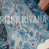 bahan /kain kebaya 3d new design