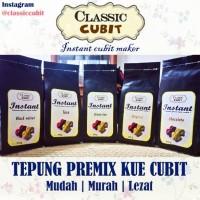 Tepung Premix / Premiks Kue Cubit Green Tea Oreo Coklat Red Velvet