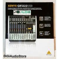 harga Behringer Qx1222usb [ Qx 1222 Usb ] Mixer Audio With Soundcard Tokopedia.com