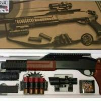 mainan kokang model shotgun K7G