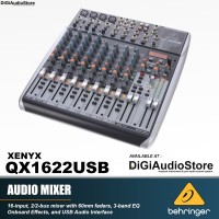 harga Behringer Xenyx Qx1622usb [ Qx 1622 Usb ] Mixer With Soundcard And Fx Tokopedia.com
