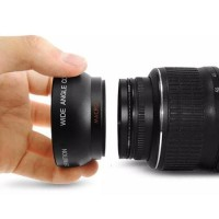 Wide-Macro Converter Lens 52mm For Canon, Nikon, Sony, Fujifilm