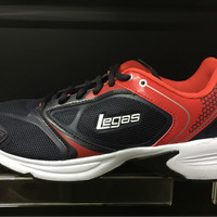 Sepatu running jogging legas league original Neptune 2 LA M red navy
