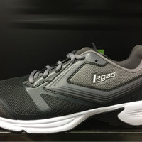 Sepatu running legas league original Nova LA M jogging grey