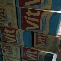 Minuman Air Mineral VIT Tanggung 600ml 24 Pcs
