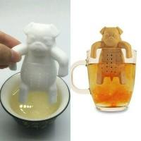 Silicone Tea Infuser/Penyaring Daun Teh/Tea Leaf Strainer/Saringan