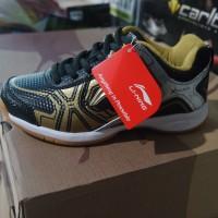 Sepatu Badminton / Bulutangkis Lining Jass Black/White (New 2017)