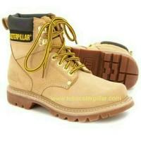 Sepatu safety Caterpillar Second shift ST honey original