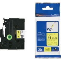 harga Brother Label Tape Tze-fx611 6mm Flexible Black On Yellow - Tze Fx611 Tokopedia.com