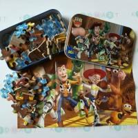 Puzzle Kaleng Jigsaw Kayu 60 Potong Toys Story