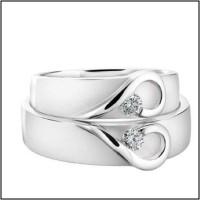 Cincin Perak Couple, Pasangan, Nikah, atau Tunangan CP-2