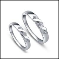 Cincin Perak Couple, Pasangan, Nikah, atau Tunangan CP 18