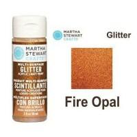 Jual Martha Stewart Multi Surface Glitter Acrylic Paint - Fire Opal Murah