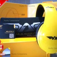 [ARMAGGEDDON] Headset Gaming Molotov-3 [Shining Yellow] Kualitas Heboh