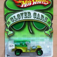 HOT WHEELS COPPER STOPPER GREEN CLOVER CARS 2010 #03/06