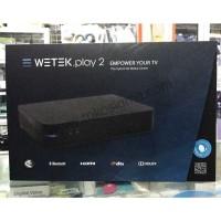DVB-T2 WETEK PLAY 2 HYBRID MEDIA PLAYER 4K ANDROID TV BOX