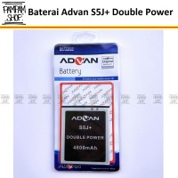 Baterai Advan S5J+ Plus Double Power Original | Batrai, Batre, Advance