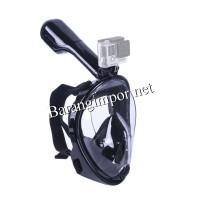 Jual Full Face Snorkel Mask/Snorkeling/snorkle/Masker selam Mouting Gopro Murah