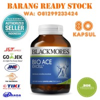 Jual Blackmores Bio Ace Excell BPOM Kalbe - 80 Softgel Murah