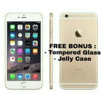 Iphone 6 Plus 64GB Gold FREE BONUS Garansi Distributor 1 Tahun