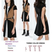 THREE COLOR DRESS. Made in China - FACTORY OUTLET BRANDED JAKARTA
