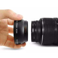 Rajawali Wide-Macro Converter Lens 55mm For Nikon, Sony