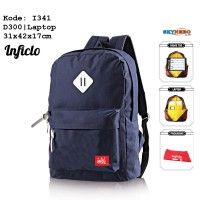 Jual Tas Ransel Laptop Inficlo Original Distro Branded (Code: 341) Murah