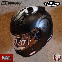 HJC CL-17 The Punisher (Marvel's Edition)