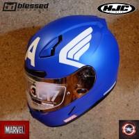 HJC CL-17 Captain America (Marvel's Edition)