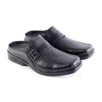 Sandal Bustong Kulit Pria [ PLS-6176 ]