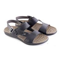 Sandal Bustong Kulit Pria [ PLS-6179 ]