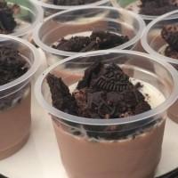 puding choco oreo/pudding coklat cokelat