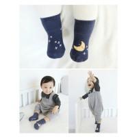 kaos kaki korea anak bayi baby bulan bintang Awan KK62