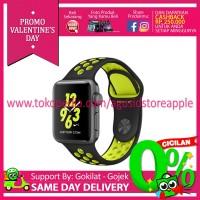 harga [promo] Apple Watch Nike+  42mm  Aluminium Sport Black+volt Mp0a2 Tokopedia.com