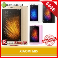 XIAOMI MI5 GOLD RAM 3GB 64GB ORIGINAL 100% GARANSI 1 TAHUN