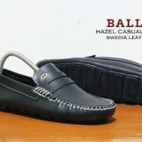harga Bally Slop Formal Slip On Casual Kulit / Sepatu Santai Kerja Pantofel Tokopedia.com