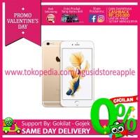 [FreeTempered Glass]IPhone 6s 128Gb Gold Garansi 1 Tahun Apple
