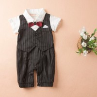 harga Romper Bow Tie Tuxedo Black / Baju Formal Bayi Dan Balita Tokopedia.com