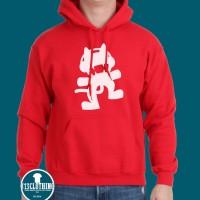 Hoodie Monstercat #2 - Merah - 313 Clothing