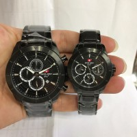 Jam Tangan Swiss Army SA 2283 Black Jam Original Jam Couple