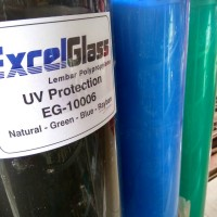 Jual Fiber Pagar Polos / Plastik Tutup Pagar Excel Glass Murah