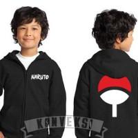 Jaket / Zipper / Hoodie / Sweater Naruto Clan Uchiha Anak