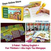 Promo 3 Fun Thinkers Talking English Aku Ingin Tau Mengapa by Grolier