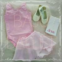 Baju Ballet - 1 set full (baju, rok, stocking, sepatu balet)
