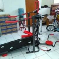 Treadmill manual TL 004 AG / treadmil 6 fungsi