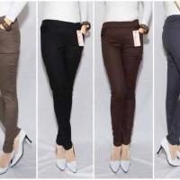 Jual Celana 3R - Pensil, panjang, wanita, katun, formal/casual, jumbo rede Murah