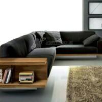 sofa tv sudut minimalis modern ( furniture, kursi tamu, sofa bed )